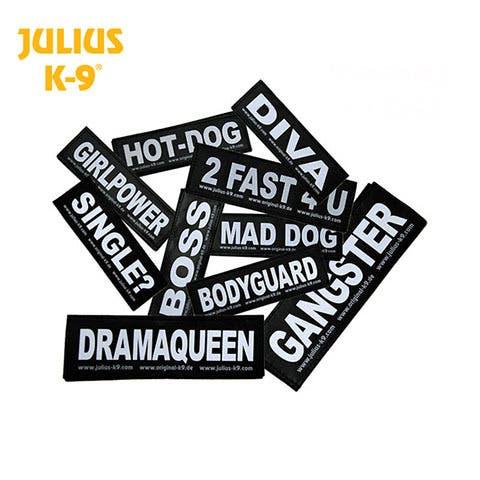 Julius K9 Reflective Labels