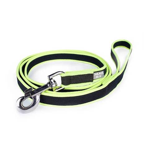 Julius K9 Premium Jogging Leash - Black & Neon - 1.3m