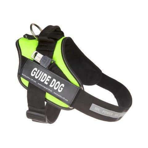 Julius K9 IDC Guide Dog Powerharness - Neon - Size 1