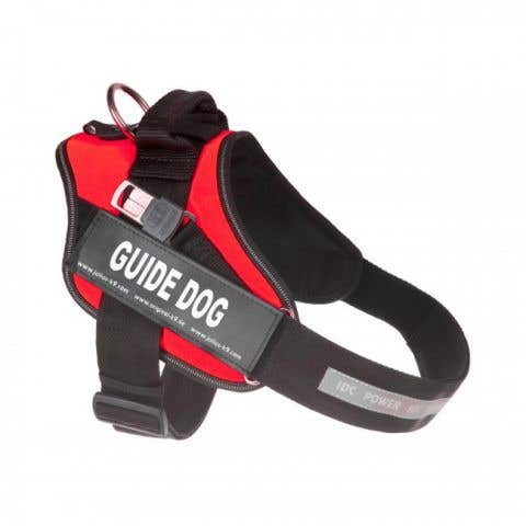 Julius K9 IDC Guide Dog Powerharness - Red - Size 1