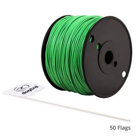 Dogtra E-Fence 150m Boundary Wire & 50 Flags