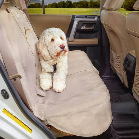 Kurgo Extended Bench Seat Cover - Hampton Sand - K01264