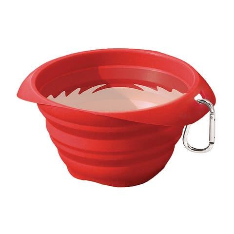 Kurgo Collaps-a-Bowl - Red - K01136