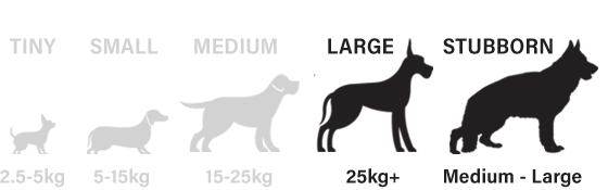 Suitable for large and stubborn dogs