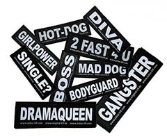 Replacement patch DRAMAQUEEN